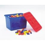 Set caramizi mici plastic